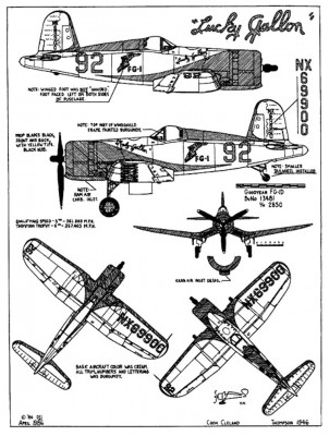 Corsair Lucky Gallon 3 view Drawing.jpg