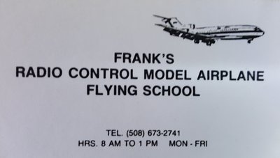 Frank went into RC Training later.